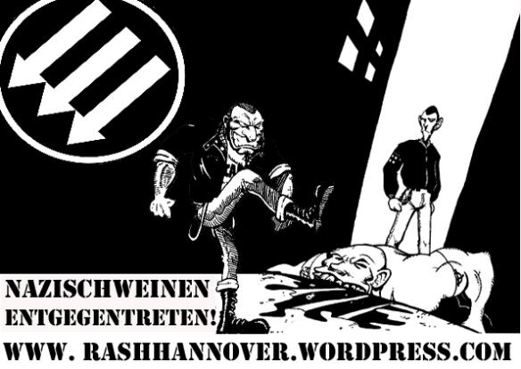 Nazischweinen entgegentreten Kopie